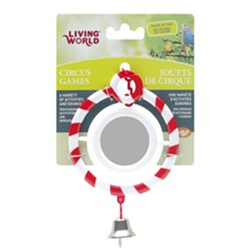 Living World Circus Mirror Toy Red {requires 3-7 Days before shipping out}