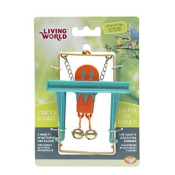 Living World Circus Monkey Toy Blue {requires 3-7 Days before shipping out}