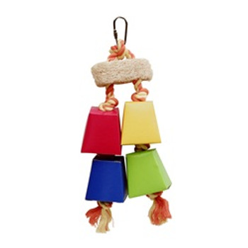 Living World Color Rope 11 In Bird Toy {requires 3-7 Days before shipping out}