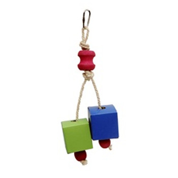 Living World Rope Split 7.9in Bird Toy {requires 3-7 Days before shipping out}