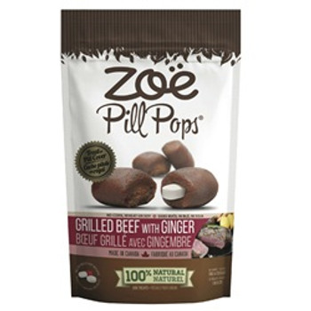 Zoe Pill Grilled Beef/ginger 10x2 3.5oz {requires 3-7 Days before shipping out}