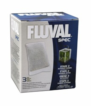 Fluval Spec Carbon 3 Pack{requires 3-7 Days before shipping out}