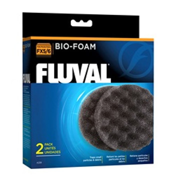 Fluval Fx5/fx6 Bio Foam 2pk {requires 3-7 Days before shipping out}