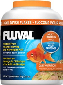 Fluval Goldfish Flakes 1.4oz {requires 3-7 Days before shipping out}