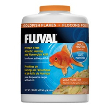 Fluval Goldfish Flakes4.94oz {requires 3-7 Days before shipping out}
