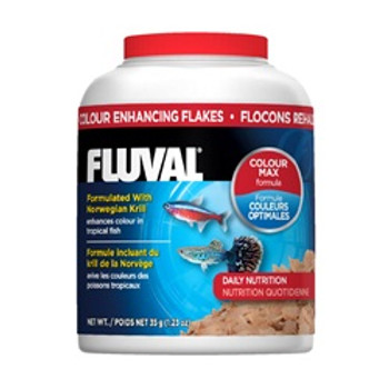Fluval Color Enhancing Flakes 1.4oz {requires 3-7 Days before shipping out}