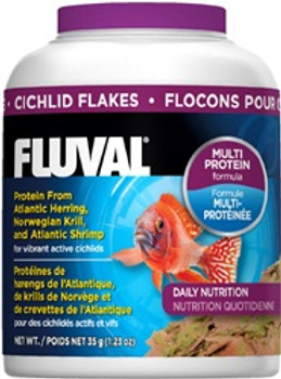 Fluval Cichlid Flakes 1.4oz{requires 3-7 Days before shipping out}