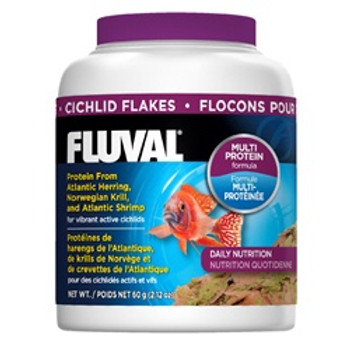 Fluval Cichlid Flakes 2.29oz {requires 3-7 Days before shipping out}