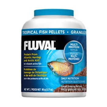 Fluval Tropical Pellets 3.17oz{requires 3-7 Days before shipping out}