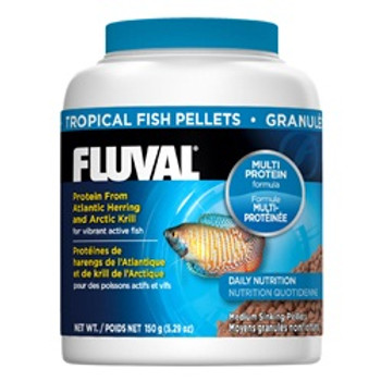Fluval Tropical Pellets 5.29oz{requires 3-7 Days before shipping out}