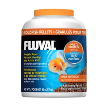 Fluval Goldfish Pellets 3.17oz{requires 3-7 Days before shipping out}