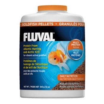 Fluval Goldfish Pellets 12oz {requires 3-7 Days before shipping out}