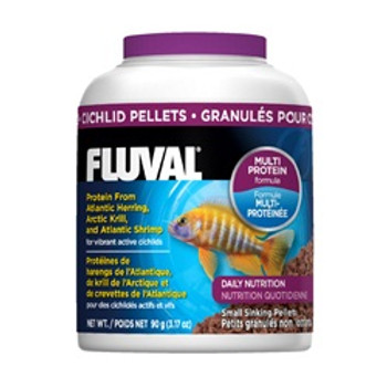 Fluval Cichild Pellets 3.17oz {requires 3-7 Days before shipping out}