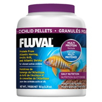 Fluval Cichild Pellets 5.29oz {requires 3-7 Days before shipping out}