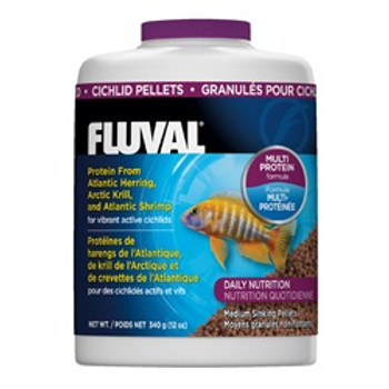 Fluval Cichild Pellets 12oz{requires 3-7 Days before shipping out}