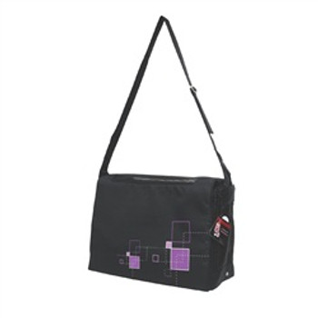 Dogit Style Messenger Bag Argyle Black{requires 3-7 Days before shipping out}