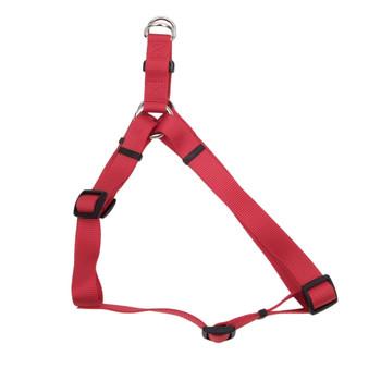 Coastal Standard Adjustable Nylon Harness Red 1x 26-38in