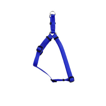 Coastal Comfort Wrap Adjustable Nylon Harness Blue 3/8x12-18in Girth