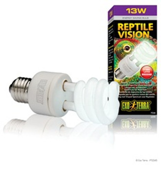 Exo Terra Reptile Vision Cfl 13w {requires 3-7 Days before shipping out}