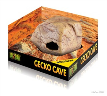 Exo-terra Gecko Cave Medium {requires 3-7 Days before shipping out}