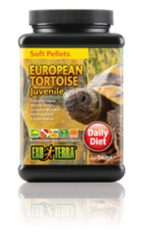 Soft Juvenile Eur Tortoise Food 19oz {requires 3-7 Days before shipping out}