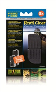 Ext Repti Clear 250 Carbon Cartridge {requires 3-7 Days before shipping out}