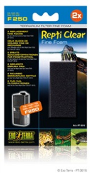 Ext Repti Clear 250 Fine Foam {requires 3-7 Days before shipping out}