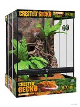 Exo Terra Crested Gecko Kit Large {requires 3-7 Days before shipping out}