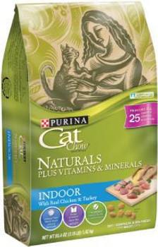 Cat Chow Nat Indr 6/3.15 lb