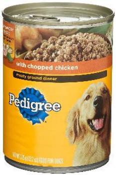 Pedigree Chop chicken  Dog 12/22z
