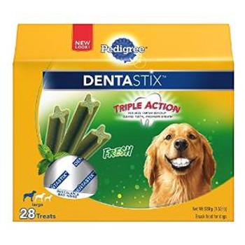 Pedigree Dentastix Lg Frsh 4/28ct