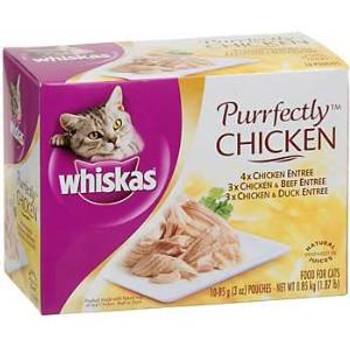 Whiska Purrfect chicken  Cat 4-10/3z