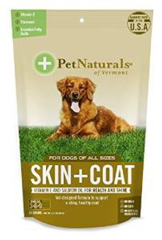 Pet Naturals of Vermont Sk&ct Dog Chw 6/2.12z