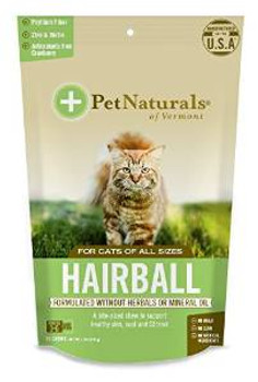 Pet Naturals of Vermont Hrbl Cat Chw 6/1.59z