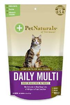 Pet Naturals of Vermont Daily Multi Cat 6/1.59z