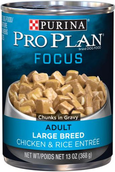 Pro Plan Large Breed Chicken and Rice 12/13OZ