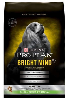 """From less interaction with you, to lower engagement in daily activities, there are many signs your dog may be aging. Purina Pro Plan Bright Mind was created out of proprietary research that shows enhanced botanical oils provide an efficient fuel sour"""""""