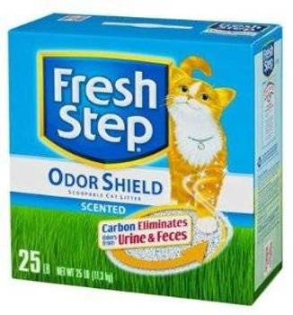 Fresh Step Scoop Ltr 25# Box