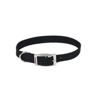 Coastal Nylon Collar 3/4inx18in Black-81752