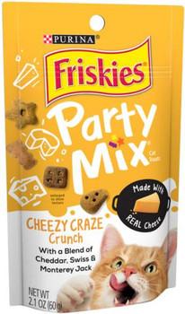 Friskies Party Mix Cheese Craze 10/2.1oz