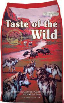 Taste of the Wild Southwst Canyon Dog 5 lb Case of 6