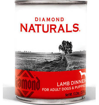 Diamond Naturals Lamb Dinner for Adult Dogs and Puppies 12/13.2 oz {L-1}419088
