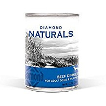 Diamond Naturals Beef Dinner for Adult Dogs and Puppies 12/13.2 oz {L-1}419086