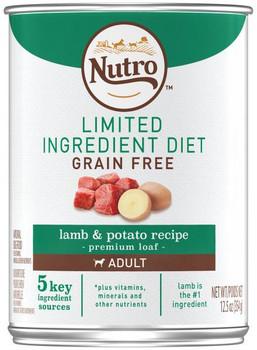 Nutro Wholesome Essentials Grain Free Lamb & Potato 12/12.5 Oz