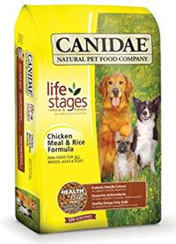 Canidae chicken /rc Dry Dog 5# Case of 6