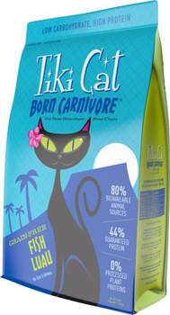 Tiki Cat Born Carnivore Fish Luau 5.6lb C=4