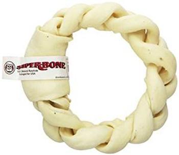 "Rawhide Express bone 7-8"" Braid Donut"