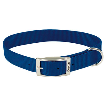Coastal Single-ply Nylon Collar Blue 1x20in