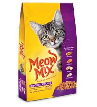 Meow Mix  Orig Chc Dry Cat Fd 22 lb