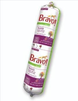 Bravo Basic frozen SD-5 Raw Rbbt 2 lb